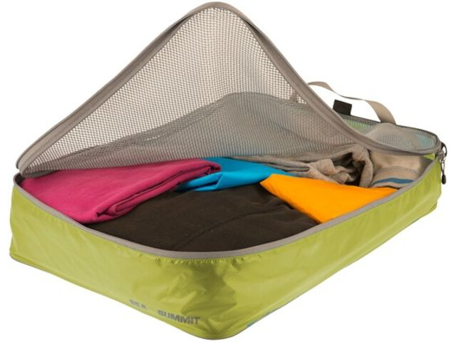 Sea to Summit Travelling Light Garment Mesh Large lime/grey